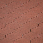 Dakshingles IKO Diamant PLUS - red tile/steenrood 10