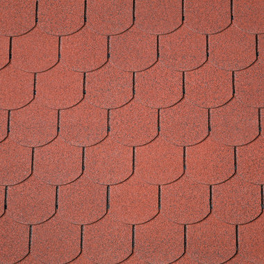 Dakshingles IKO Victorian PLUS - Tile Red/steenrood 10